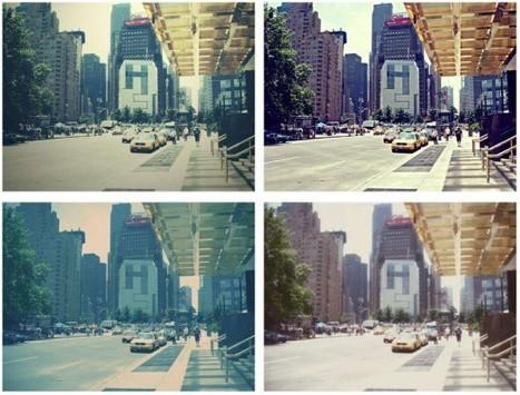 Des effets photos de qualité, 40 filtres à appliquer avec Rollip | Ballajack | khaloud | Scoop.it