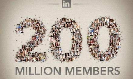 LinkedIn passe le cap symbolique des 200 millions d'utilisateurs    Social Media Curation par Mon Habitat Web   Scoop.it