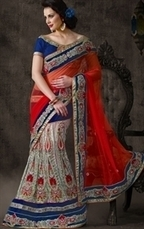 IndianWardrobe offers Eye Catching Collection of Designer Bridal Sarees Online | Indian Wardrobe | Scoop.it