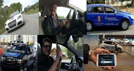 Voitures sans chauffeur, elles roulent ou se garent toutes seules | Technology in automotive systems and robotics | Scoop.it
