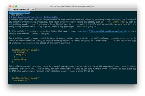 Understanding JavaScript's async await   JavaScript for Line of Business Applications   Scoop.it