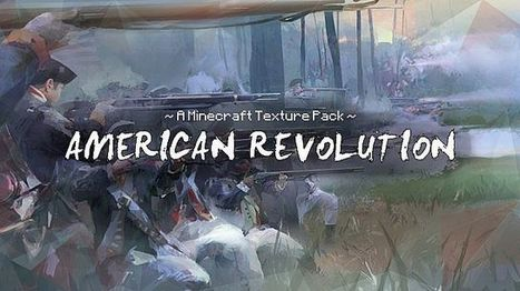 American Revolution Texture Pack for Minecraft 1.6.2 | minecraft texture pack 1.6.2 | Scoop.it