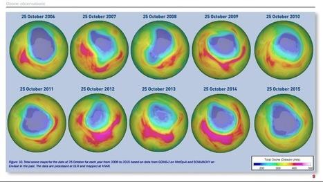 La surface du trou d'ozone 2015 au-dessus de l'Antarctique fait partie des plus étendues jamais observées | Toxique, soyons vigilant ! | Scoop.it