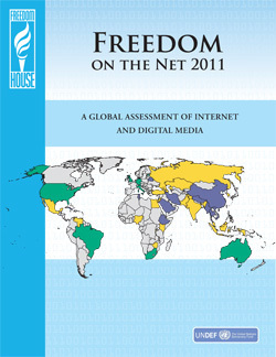 Freedom on the Net 2011 - A Global Assessment of Internet and Digital Media Freedom | Information and communication technology for democracy | Scoop.it