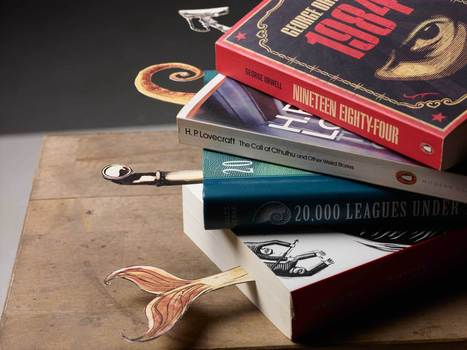 Kitap Ayraçları - Ethem Onur Bilgiç | Minimal Art: Sadelik, Zeka ve Mizah. | Scoop.it