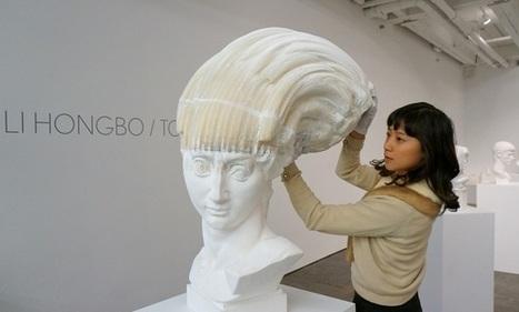 Les sculptures étirables de Li Hongbo   Art, Culture et Société   Scoop.it