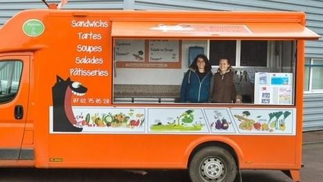 Un Sourire dans l'Assiette : un food truck végétarien et bio   Efficycle   Scoop.it