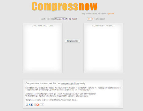 How to Compress an Image Online | Felix Idea | How To's | Scoop.it