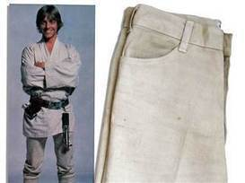 Jedi jeans! Luke Skywalker's 'hero pants' could sell for $100,000 - TODAY.com | It's Show Prep for Radio | Scoop.it