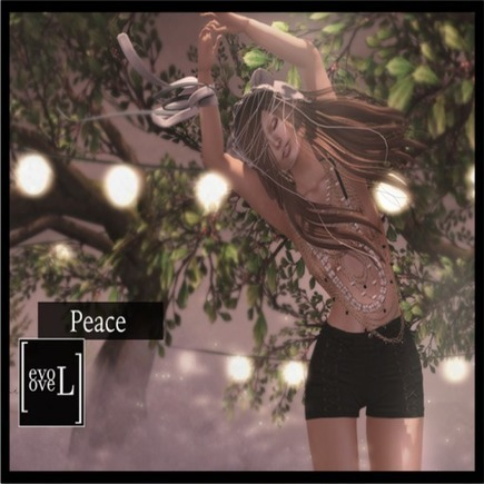 Peace Female Single Pose Teleport Hub Group Gift by [evoLove] | Teleport Hub - Second Life Freebies | Second Life Freebies | Scoop.it