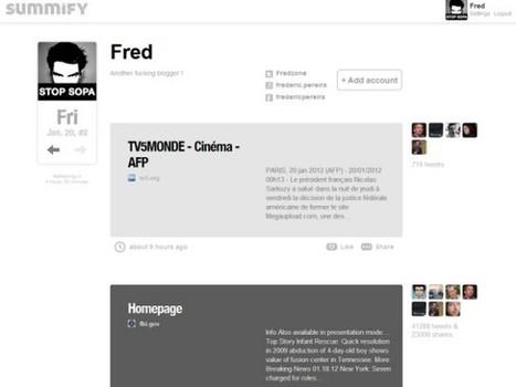 Twitter rachète Summify | Fredzone | Pratique et Twitter | Scoop.it