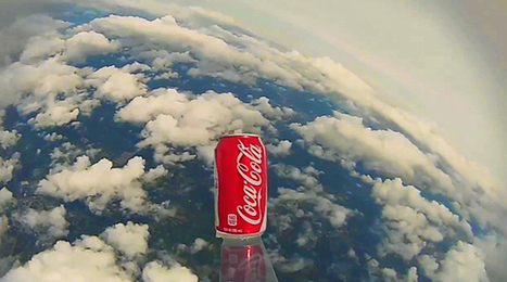 Watch: Atlanta Students Send Coke Can to Space: The Coca-Cola ... | coca with rats | Scoop.it