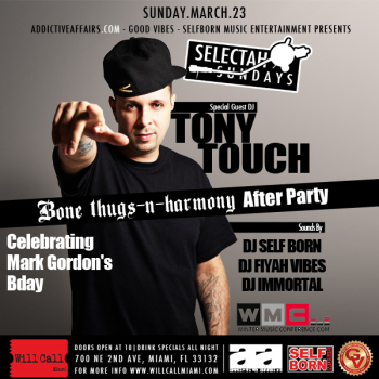 @JagudEye- HAPPY BORNDAY Mark Gordon!!! Selectah Sundays and Bone Thugs and Harmony Afterparty Sunday, 03/23/2014 – 10:00 pm  FREE!!! | The Weekend - PuPH-PuPH Pazz | Scoop.it