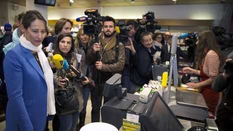 Ségolène Royal s'affiche dans des supermarchés - Le Figaro   tweets de la semaine   Scoop.it