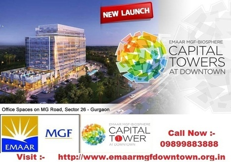 Emaar Mgf Capital Towers Gurgaon | emaarmgfdowntown | Scoop.it