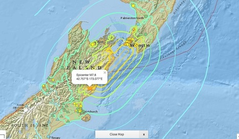 Quake and Tsunami Strike New Zealand | Lorraine's Landscapes and landforms | Scoop.it