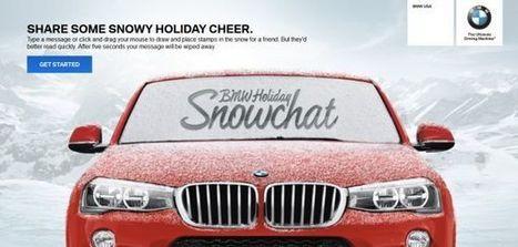 宝马 Snapchat:给你的车窗来个雪景涂鸦吧 | Wunderman China Auto Marketing News | Scoop.it