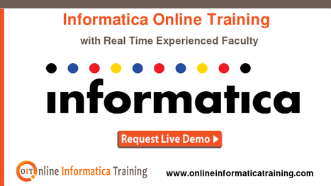 Exclusive Online Training Sessions for Informatica Course | Build your bright career with online training by online informatica training institute | Scoop.it