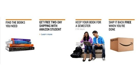 Amazon launches rental service for paper textbooks | Designer's Resources | Scoop.it