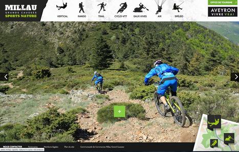 Nouveau site web : Millau Sport Nature | L'info tourisme en Aveyron | Scoop.it