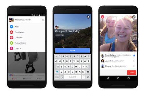 Bringing Facebook Live to Android and More Countries | Facebook Newsroom | mvpx_Vid | Scoop.it