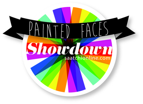 """The Next Saatchi Online Showdown Competition: """"Painted Faces"""" 