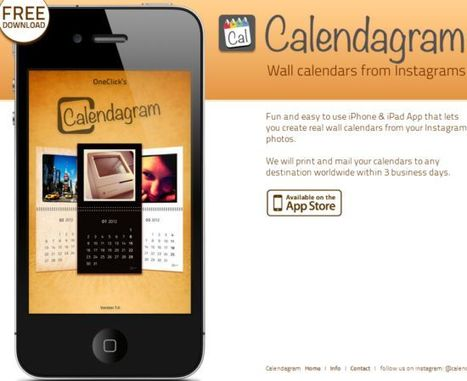 Crear calendarios con fotos de Instagram con Calendagram | 2.0, Social Media y Marketing Online | Scoop.it