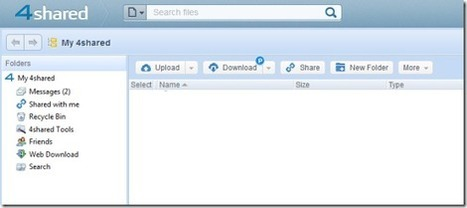 4shared: Free 15 GB Online File Storage, Online File Sharing | @LLZ | Mobile Learning | Scoop.it