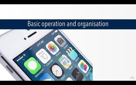 iPad Basics 101 – iOS 8 | Spectronics Online | iPads in Special Education | Scoop.it