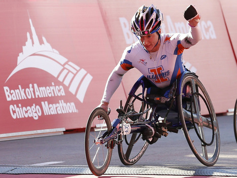 Wheelchair racer pushes for marathon 'grand slam' — and eyes Sochi gold | Disability and Society | Scoop.it