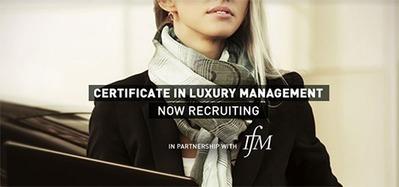 L'IFM - Luxury Certificate in Lebanon | Formations mode et design | Scoop.it