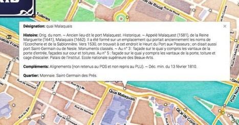 Paristique. L'origine des rues de Paris sur une carte – Les Outils Tice | Content marketing et Social Média | Scoop.it