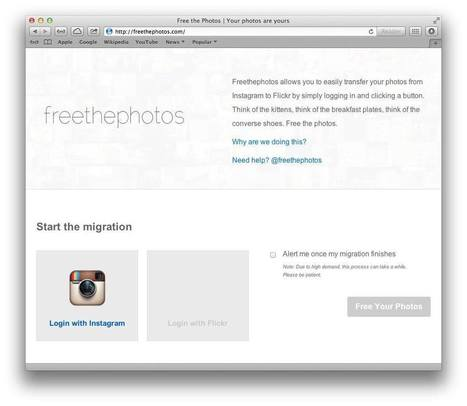 How to copy all your Instagrams to Flickr | Visibility | Scoop.it