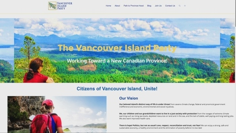 New political party pushing for province of Vancouver Island | Social 20-1 | Scoop.it