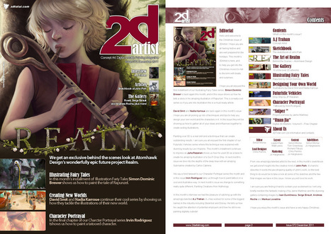 2DArtist: Issue 072 - December 2011 (Download Only) | Wolf and Dulci Links | Scoop.it