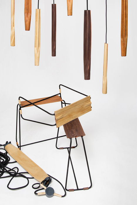 Wood Objects Inspired By Sushi - Design Milk | CLOVER ENTERPRISES ''THE ENTERTAINMENT OF CHOICE'' | Scoop.it
