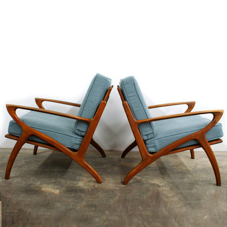 Scultpural Lounge Chairs | Antiques & Vintage Collectibles | Scoop.it