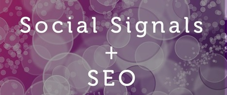 Do Social Signals Affect SEO & Search Performance? Yes,They Do. | SEO | Scoop.it