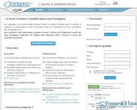 Distala : un service de prise de contrôle à distance en français | Le Top des Applications Web et Logiciels Gratuits | Scoop.it