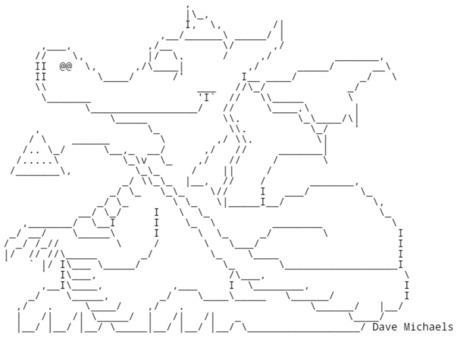 Chris.com - ASCII ART - Dragon - Dragons | ASCII Art | Scoop.it