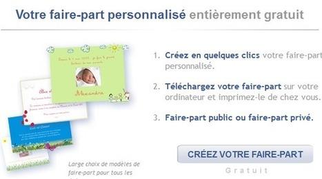 Logiciel gratuit Online 2012 Creation faire part Licence gratuite .Modeles Mariage ,Naissance ,Pacs ,anniversaires | phenix | Scoop.it