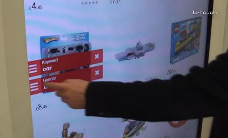 Tesco et son projet de catalogue interactif sur écran tactile géant en magasin |Génération Tactile … Out Of Home | E-commerce, M-commerce : digital revolution | Scoop.it