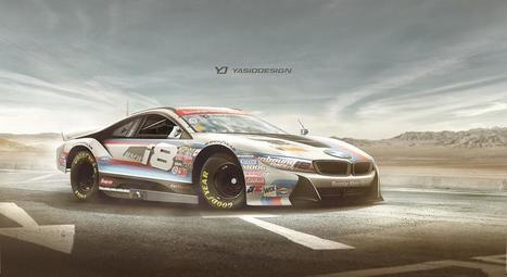 BMW i8 gets the NASCAR treatment | Nerd Vittles Daily Dump | Scoop.it