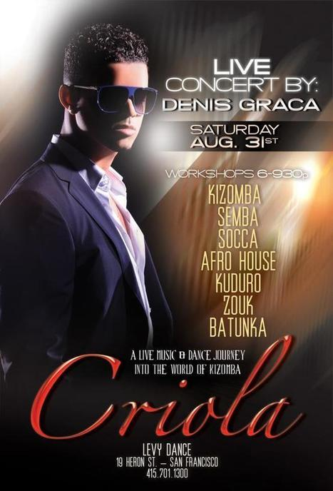 Oct 24-27, 2013: Jorjet, Mandela, Vasco, Eddy + More @ SF Kizomba Fest (Price go up Aug 31st) | Bachata Dancing | Scoop.it