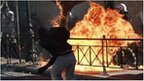 Greek clashes amid general strike | Countdown to Financial Armageddon | Scoop.it