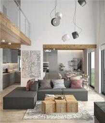 Du gris, du bois et des notes de rose dans un intérieur | picslovin | Scoop.it