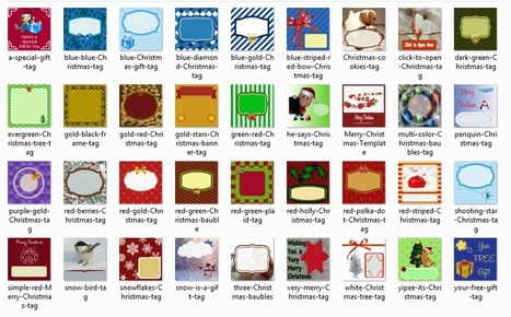 FREE Printable Christmas Tags – Download 36 Fun Designs!   Passive Income Streams 101 for Busy Moms   Blog Startup   Scoop.it
