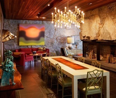 An Eclectic One-of-a-kind Dining Room | Home & Office Styling | Scoop.it