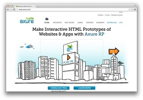 20 Tools Every User Experience Pro Should Know About | Novedades en Marketing Online | Scoop.it
