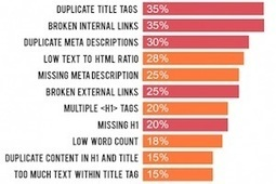 The 11 Most Common Website SEO Issues [Infographic] | Digital Content Marketing | Scoop.it